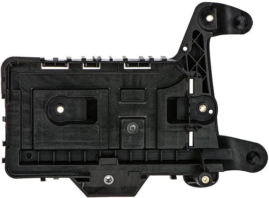 Tava, Suport baterie Audi A3 (8p), 05.2003-04.2008, A3 (8p), 04.2008-10.2012 Hatchack, Cabrio, Q3 (8u), 06.2011-02.2015 , Q3 (8u), 01.2015-, fata