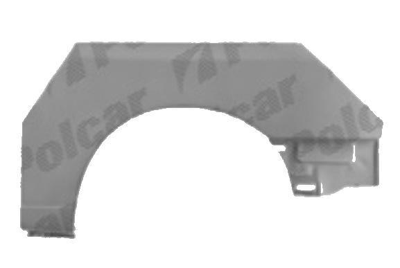 Segment reparatie aripa spate Vw Caddy Ii, 1995-2003, Seat Inca 1995-2003, Partea Stanga, Spate,