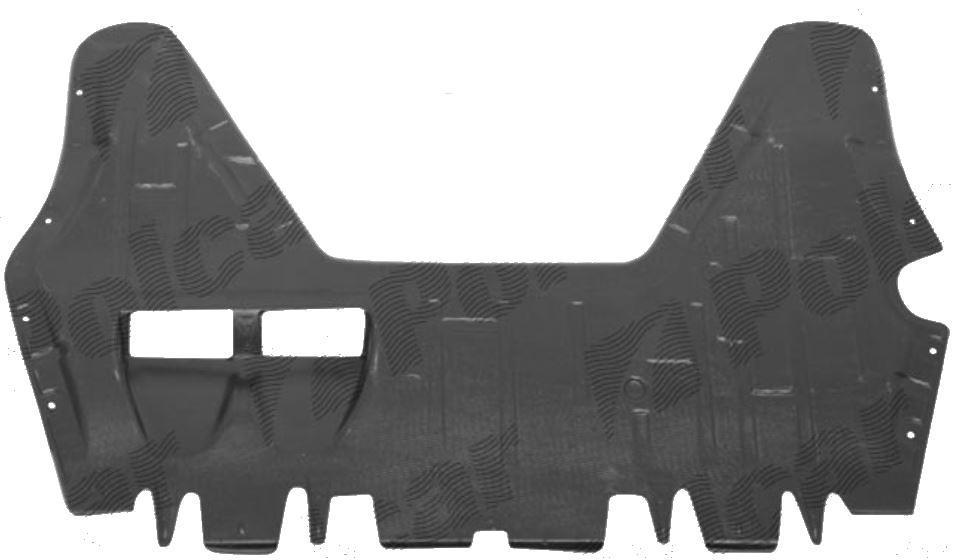 Scut motor Vw Passat, Sedan+Combi (B6 (3C)), 01.2005-07.2010 Motorizare Benzina, VW Passat CC (357) 06.2008-02.2012, Fata, 3C0825235B, 955534-5, ABS+PVC