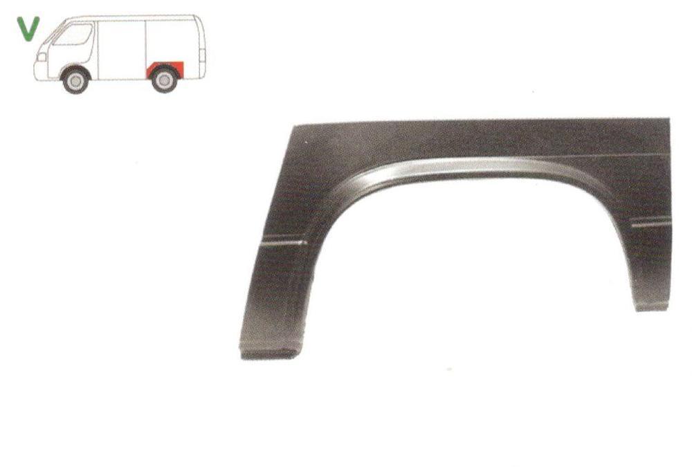 Segment reparatie aripa spate Vw Transporter T3 1979-1992 Partea Stanga, Spate,