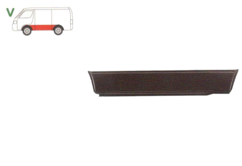 Segment reparatie panou lateral Vw Transporter (T3) 07.1979-1992 , partea Spate Stanga, Partea Inferioara, Lungimea 1650mm,