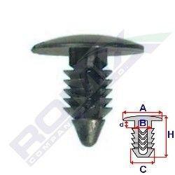 Clips fixare Daewoo Matiz Ii, 01-, Aftermarket RX10021