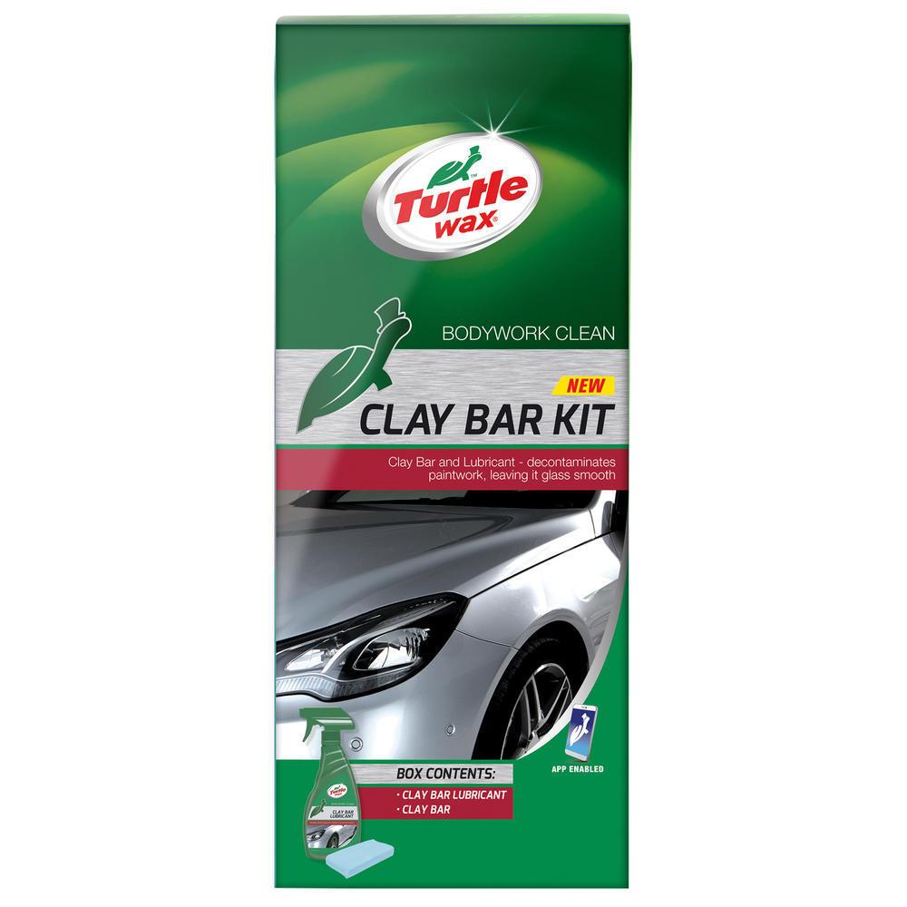 Pachet decontaminare auto , pregatire pentru ceruit si polisat Turtle Wax FG7605 GL Clay Bar Kit
