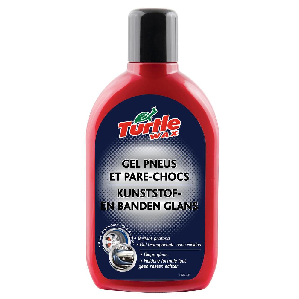 Solutie curatare si protejare elemente plastic si anvelope Turtle Wax FG6953 Protect & Shine Bumper & Tyre Gel 500ml