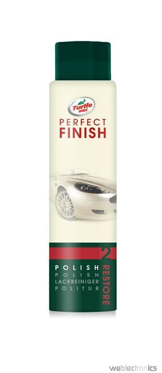 Pasta polish Turtle Wax Perfect Finish Polish reda luciul initial al masinii 300ml
