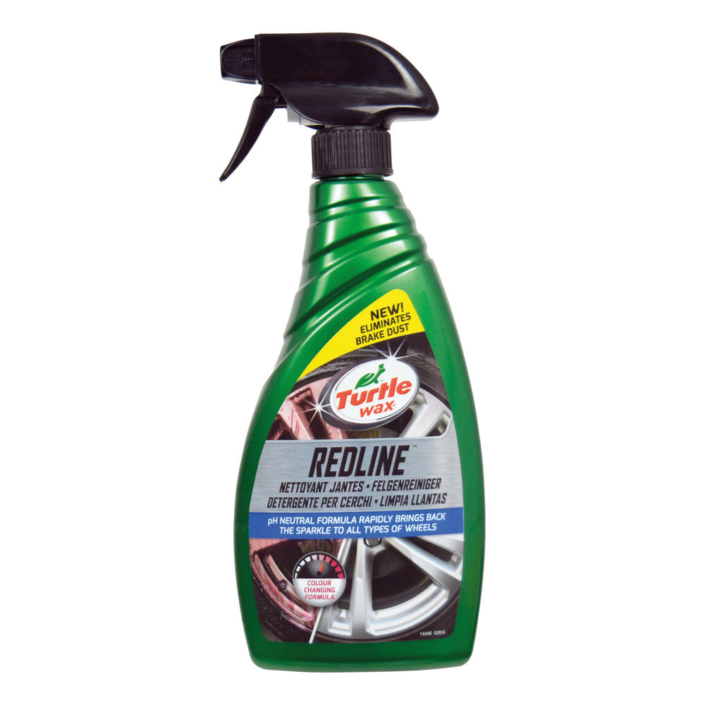 Solutie curatat jante aluminiu Turtle Wax 52854 GL Red Line All Wheel Cleaner 500ml