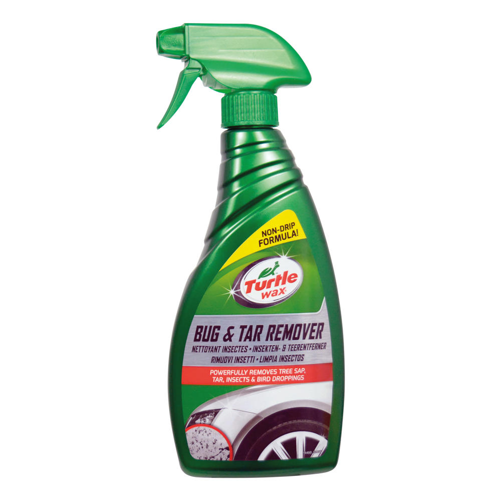 Solutie pentru curatat urmele de insecte si smoala, gudronul de pe caroserie Turtle Wax 52856 GL Bug& Tar Remover 500ml