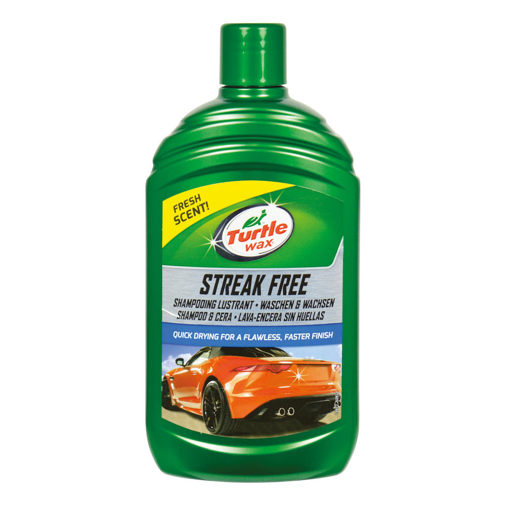 Sampon auto Turtle Wax Streak Free Wash & Wax 500ml