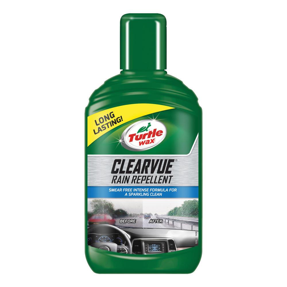 Solutie Anti Ploaie Turtle Wax Tratament parbriz pentru alunecarea apei ClearVue Rain Repellant 300ml