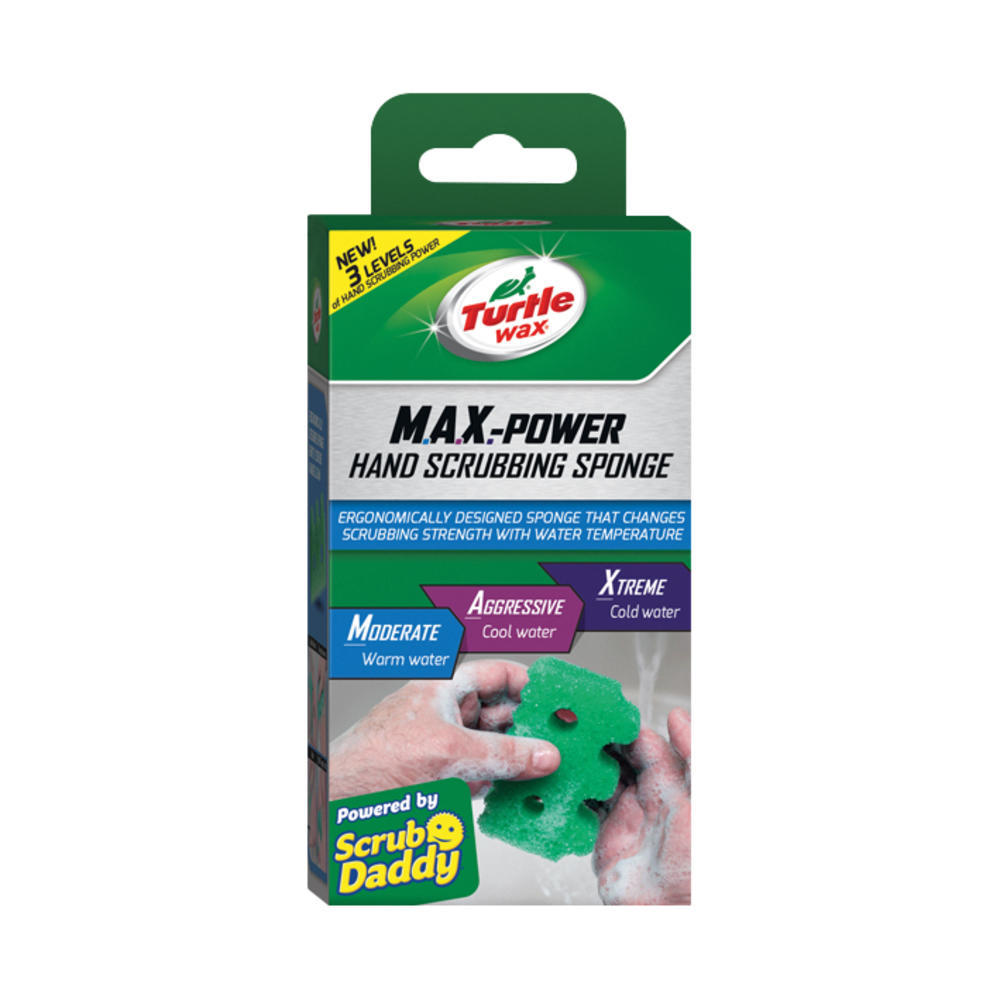 Burete curatat mainile Turtle Wax M.A.X.-Power Hand Scrubbing Sponge