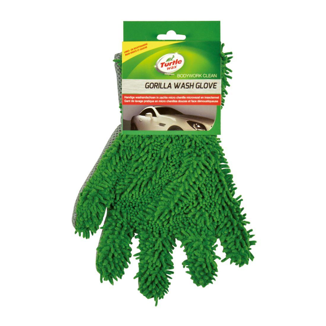 Laveta microfibre Turtle Wax X1835TD Glove Gorilla , tip manusa pentru spalat si curatat masina