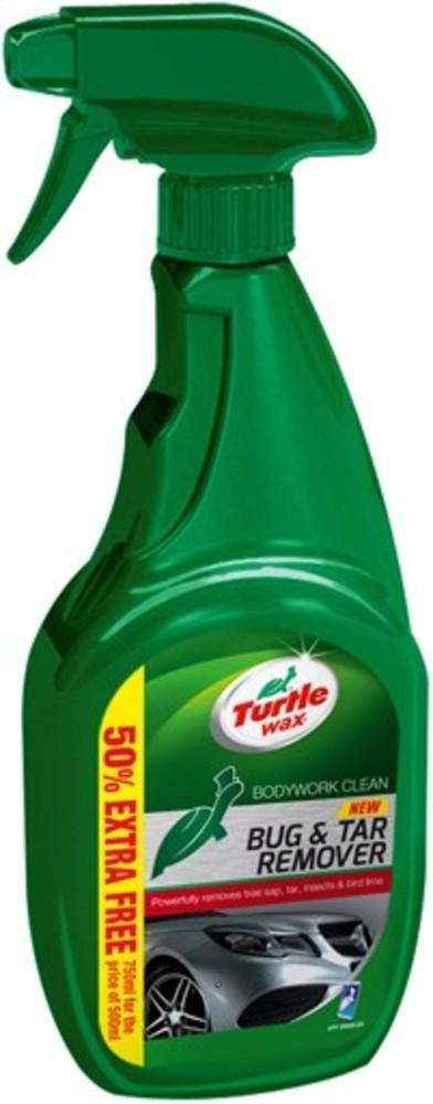 Solutie pentru indepartare urme insecte, tar, rasina compaci Turtle Wax TW16-03 GL Bug & Tar Remover 500ml + 250ml