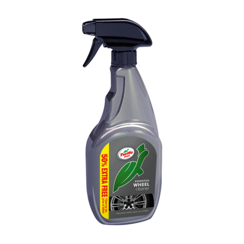 Solutie pentru curatare jante Turtle Wax Essential Wheel Cleaner 500ml + 250ml