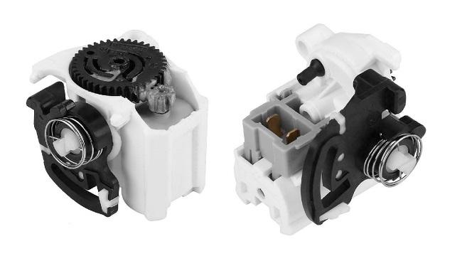 Actuator capota spate, motoras haion Renault Clio 2 (B0/1/2), 09.1998-06.2001; Clio Ii/Storia/Campus (B0/1/2), 07.2001-; Clio 3 (R0/1), 09.2005-05.2009; Clio 3 (R0/1), 05.2009-