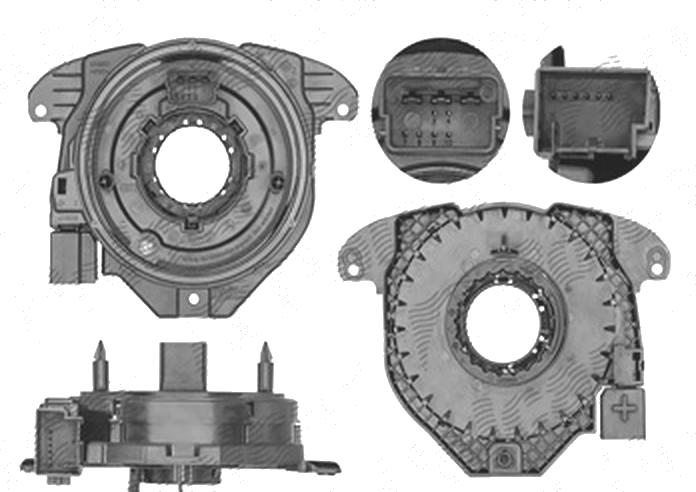 Arc spirala, Airbag Skoda Rapid (Nh), 10.2012-, Fabia, 12.2014-; Seat Ibiza (6j), 04.2012-; Toledo (Nh), 10.2012-, VALEO