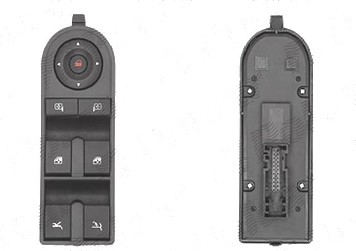 Buton reglare oglinzi, comutator macara usa Opel Tigra, 05.2004-09.2009, cabrio, buton inchidere centralizata; reglare oglinda; dublu