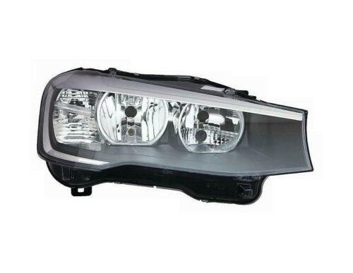 Far Bmw X3 (F25), 03.2014-; X4 (F26), 08.2014-, fata, Dreapta, cu daytime running light; H7+H7+PY21W+W21W+W5W; electric; cu motor, AL (Automotive Lighting)