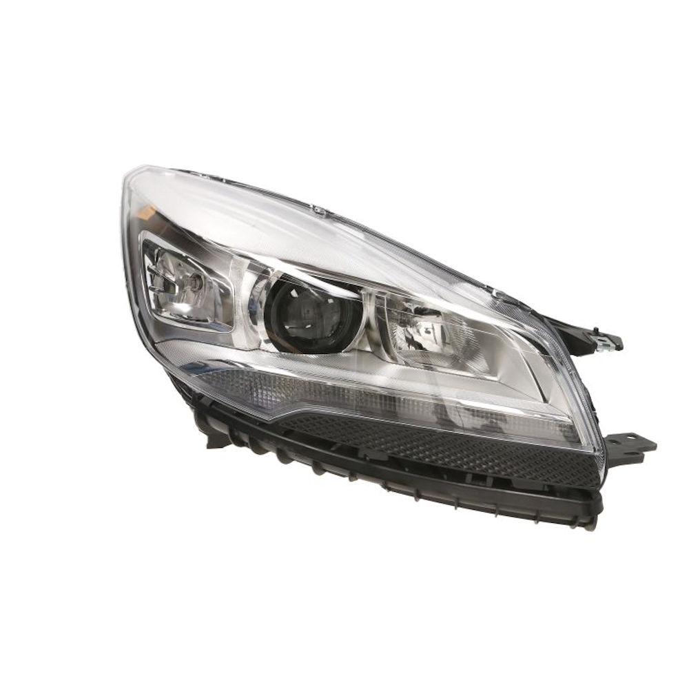 Far Ford Kuga, 01.2013-, partea Dreapta, electric, cu lumini de zi cu LED, tip bec D3S+H1+H7, fara bec, fara balast, cu motoras, Depo