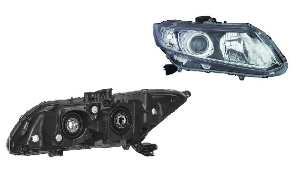 Far Honda Civic (Fb) Eu/Us Sedan/Coupe, 09.2011, spate, Dreapta, SEDAN, H11+HB3+W21/5W+WY21W; electric; fara motoras, DEPO