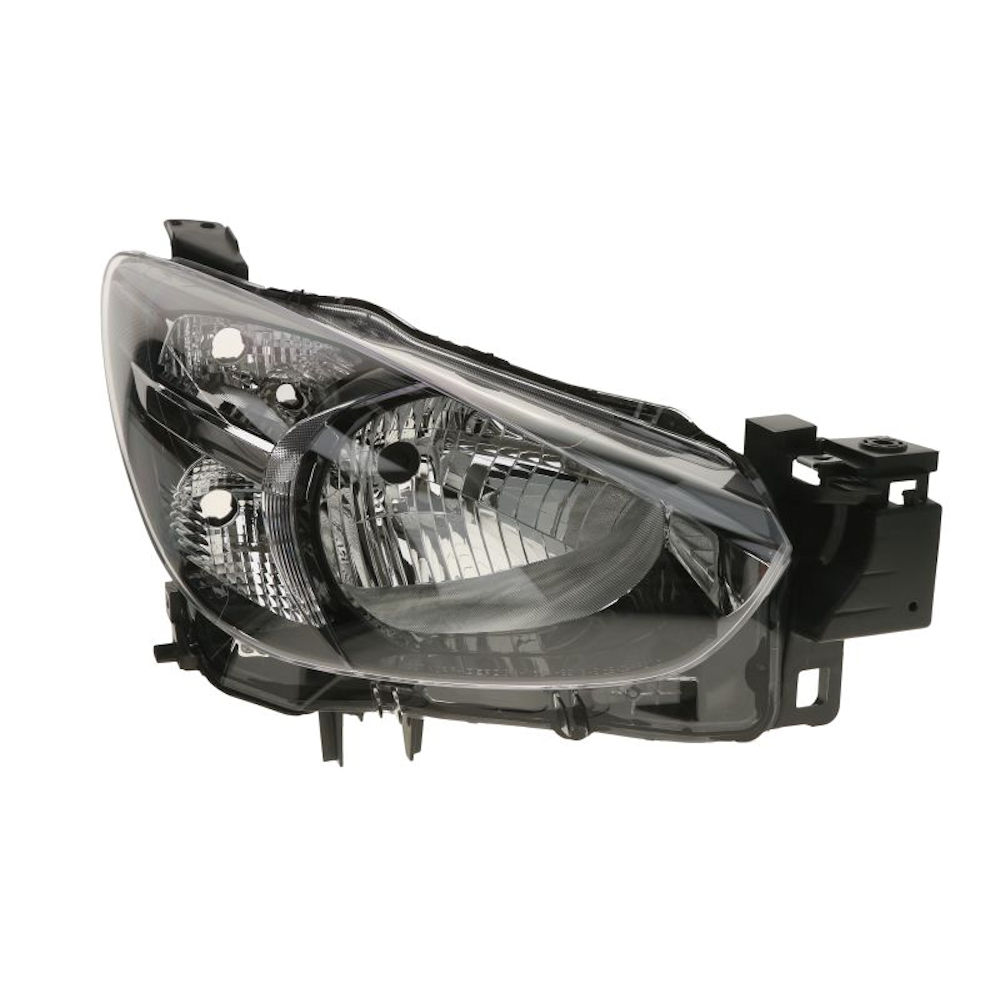 Far Mazda 2 (DJ), 07.2014-, partea Dreapta, electric, fara motoras, tip bec H4, Depo