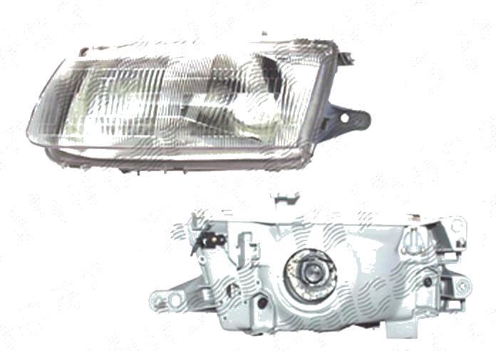 Far Mercedes Clasa Clk (C209) 06.2002-03.2010, fata, Stanga, H7+H7+PY21W+W5W; pneumatic, DEPO