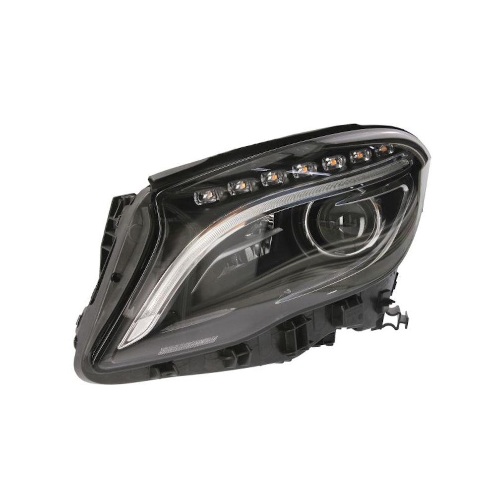 Far Mercedes Clasa GLA (X156) 12.2013-, partea Stanga, electric, tip bec D3S, bi-xenon, cu lumini curbe, cu LED, fara balast, fara unitate control, cu bec xenon, Magneti Marelli