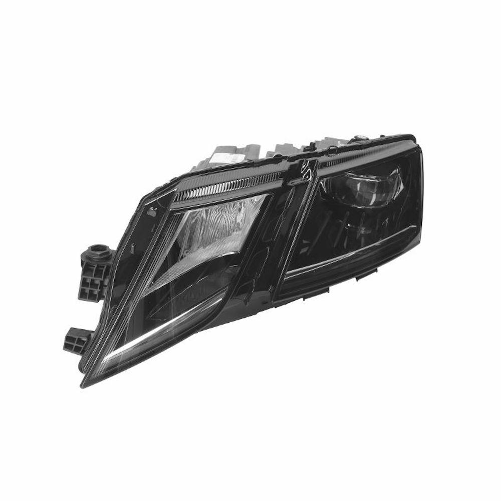 Far Skoda Octavia 3 (5E), 03.2017-, partea Stanga, electric, LED, fara modul lumini de zi, fara unitate control led, cu motoras, cu lumini pt curbe, MAGNETI MARELLI