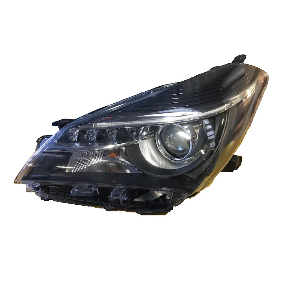 Far Toyota YARIS (XP130) 07.2014-, partea Stanga, tip bec HiR2, cu lumini de zi pe LED, fara motoras, Depo
