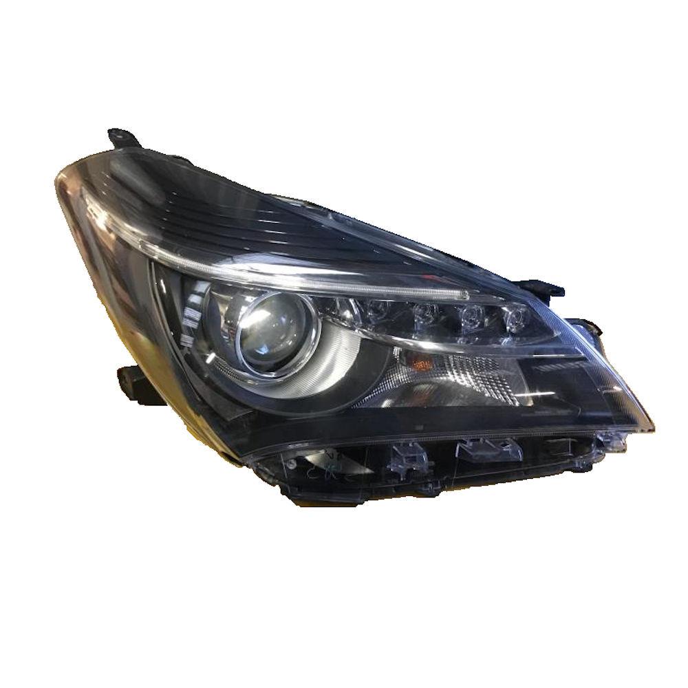 Far Toyota YARIS (XP130) 07.2014-, partea Dreapta, tip bec HiR2, cu lumini de zi pe LED, fara motoras, Depo