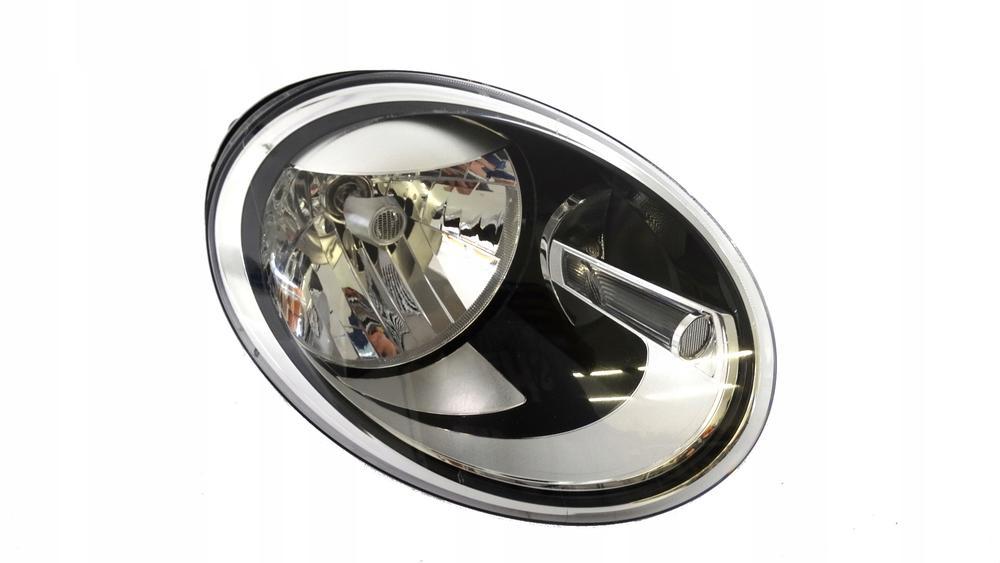 Far Vw Beetle (5c1), 10.2011-, Electric, tip bec H4, omologare ECE, cu motor, cu lumini de zi, Dreapta, marca DEPO