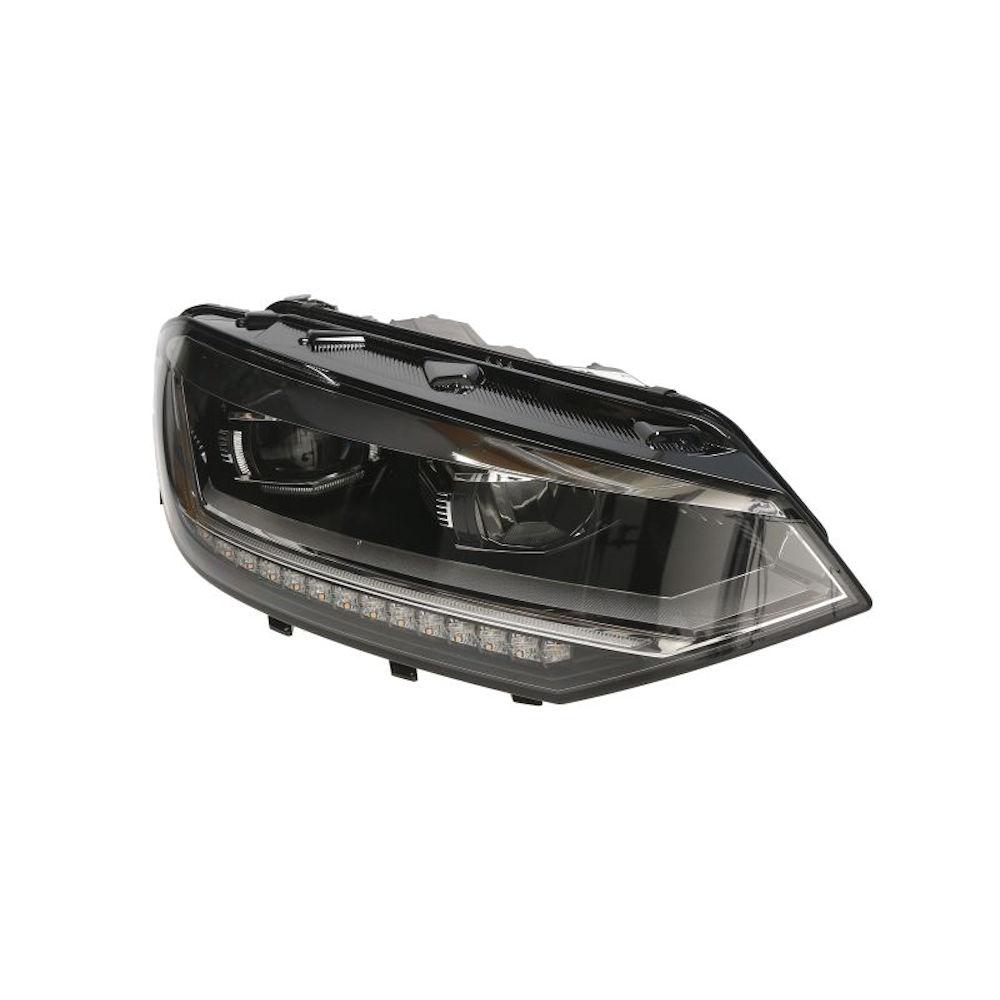 Far VW Touran (5T), 05.2015-, partea Dreapta, electric, LED, cu sistem de lumini pentru curbe, MAGNETI MARELLI