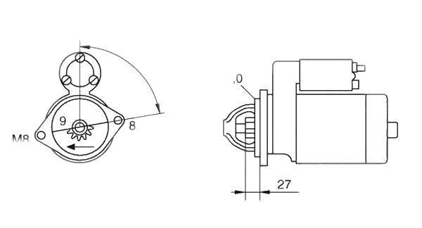 Electromotor Magneti Marelli 063280045010