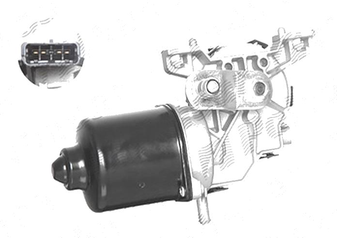 Motoras stergator parbriz Fiat 500 (312) 03.2007-08.2015 ; Bravo (198) 02.2007-2014, Lancia Delta (844) 07.2008-2014, partea Fata