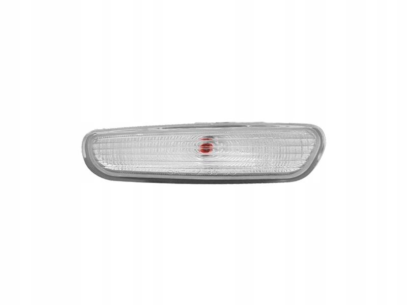 Lampa semnalizare Volvo S40/V40 (Vs/Vw), 07.95-07.00, omologare ECE, alba, cu lampa, in bara, cu bec,, Stanga , Dreapta