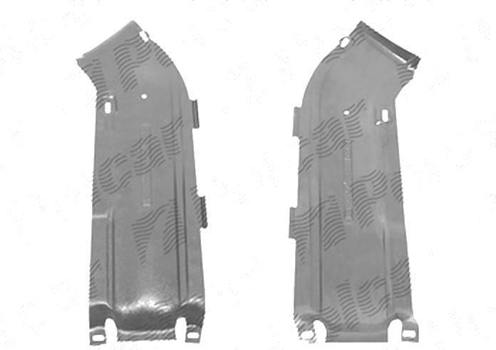 Scut motor Mercedes Clasa A (W169), 09.2004-05.2008, fata, polietilena (PE)